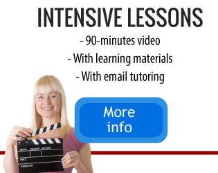 Russian intensive lesson online