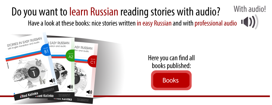 Books to learn Russian from Red Kalinka
