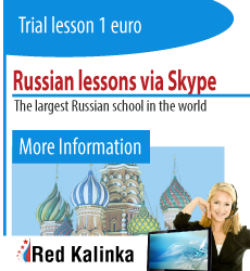 Russian lessons via Skype