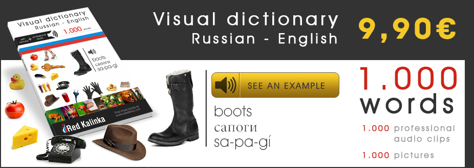 Russian dictionary Red Kalinka